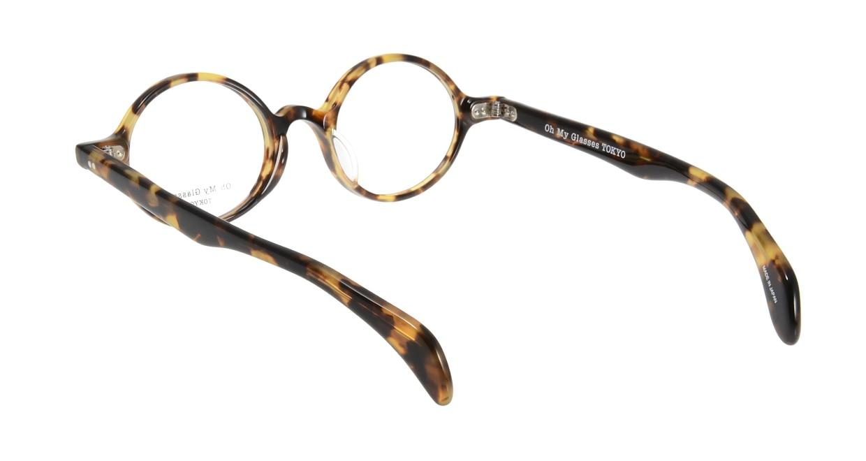 Oh My Glasses TOKYO Alex omg-007 4-45 [鯖江産/丸メガネ/べっ甲柄]  2