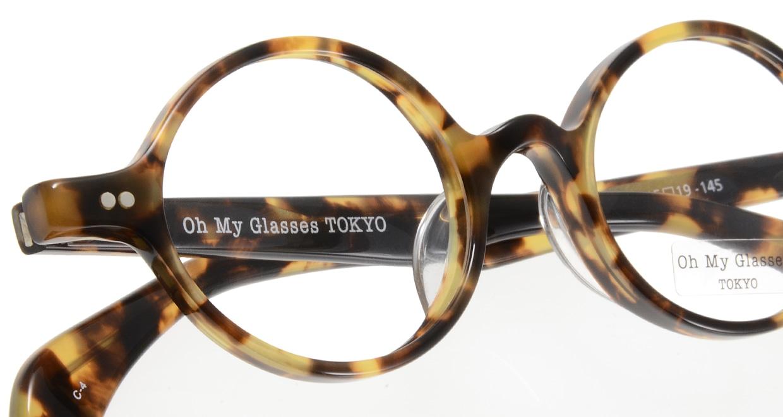 Oh My Glasses TOKYO Alex omg-007 4-45 [鯖江産/丸メガネ/べっ甲柄]  4