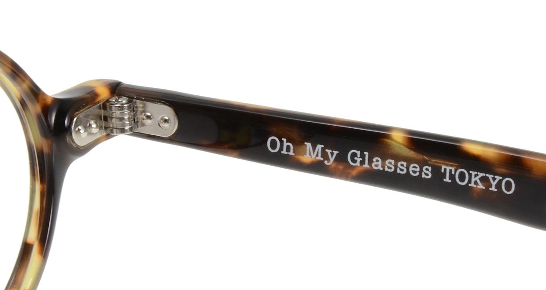 Oh My Glasses TOKYO Alex omg-007 4-45 [鯖江産/丸メガネ/べっ甲柄]  5