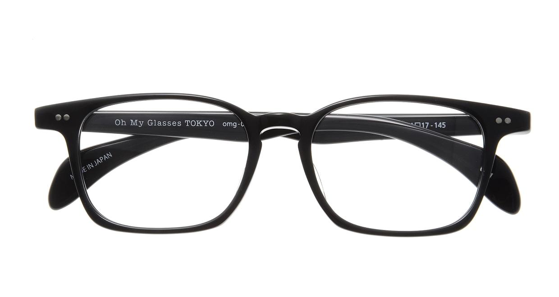 Oh My Glasses TOKYO Marc omg-008 1-51 [黒縁/鯖江産/ウェリントン]  3