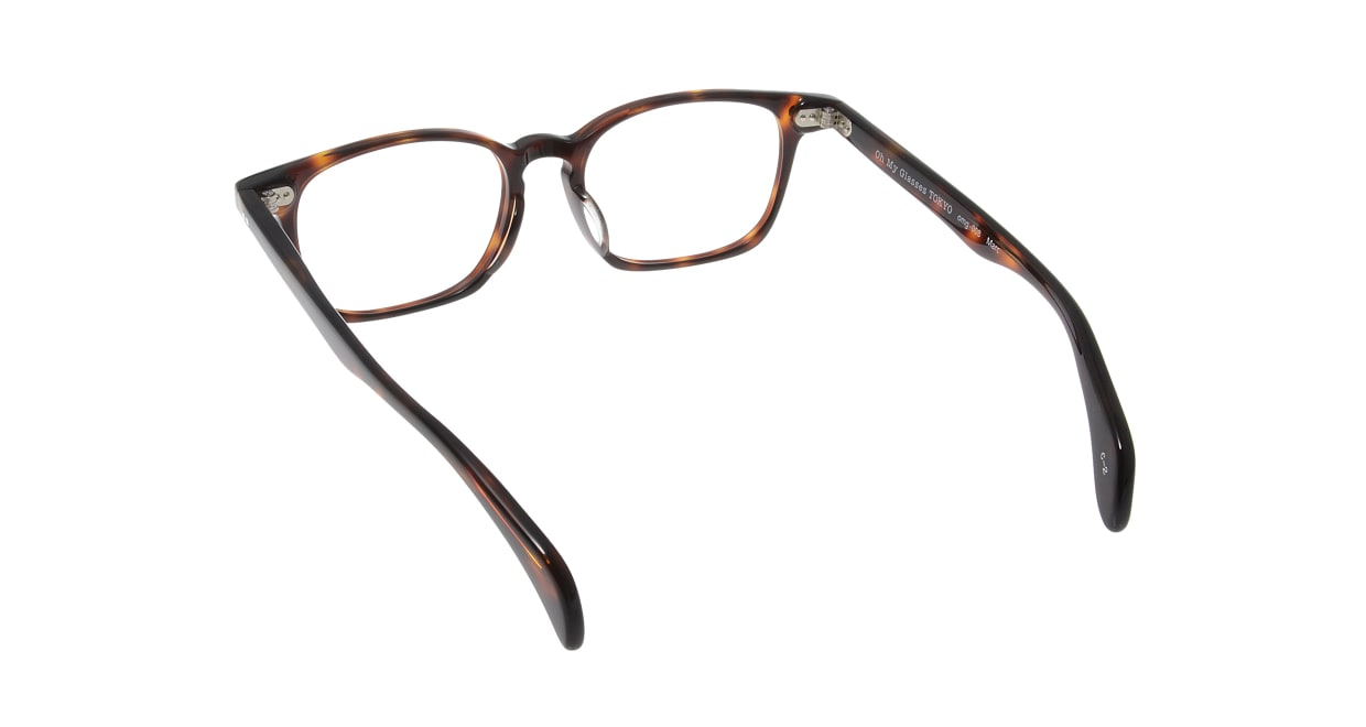 Oh My Glasses TOKYO Marc omg-008 2-51 [鯖江産/ウェリントン/茶色]  2