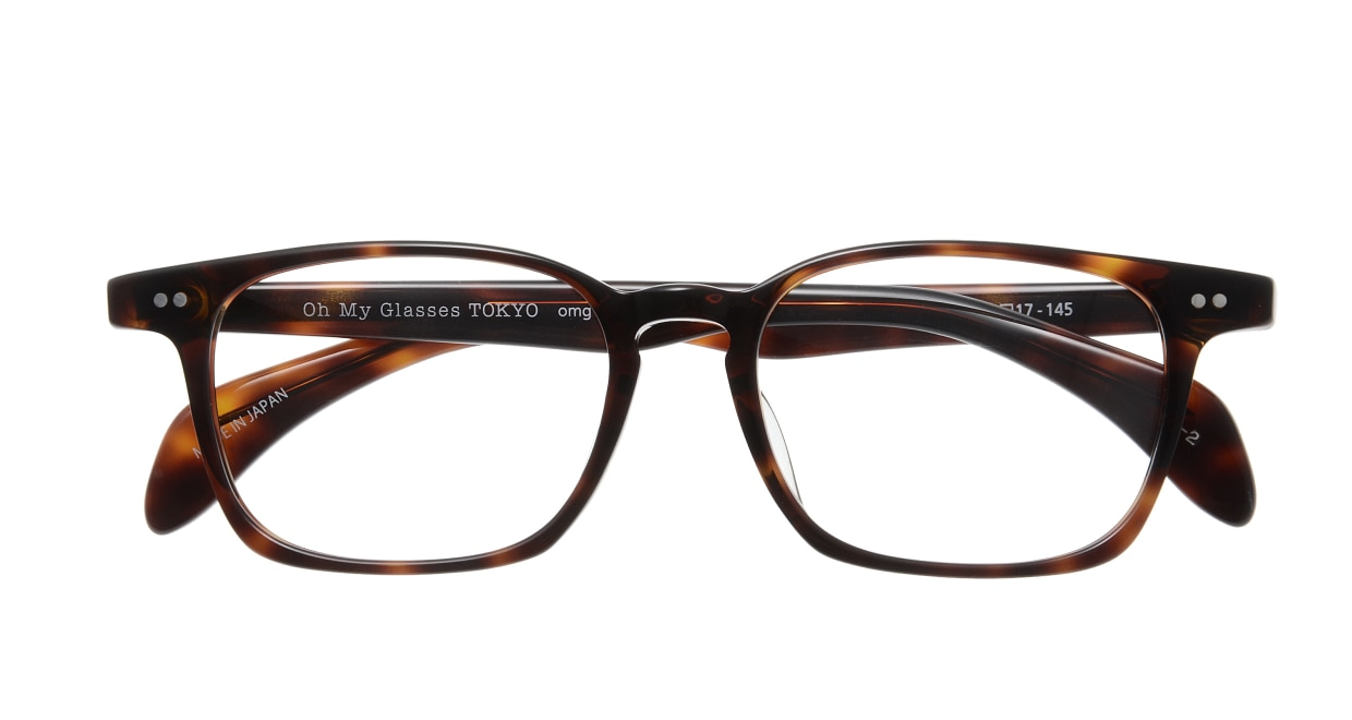 Oh My Glasses TOKYO Marc omg-008 2-51 [鯖江産/ウェリントン/茶色]  3