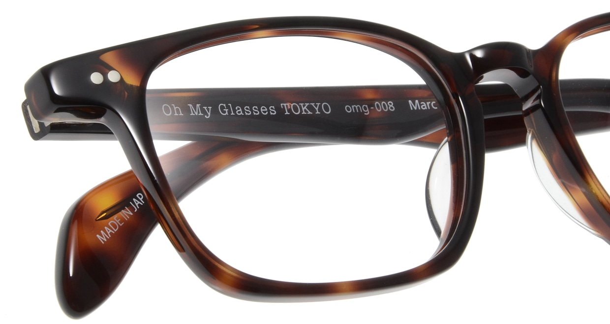 Oh My Glasses TOKYO Marc omg-008 2-51 [鯖江産/ウェリントン/茶色]  4
