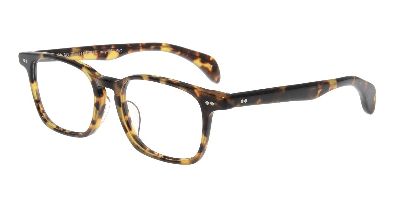 Oh My Glasses TOKYO Marc omg-008 4-51 [鯖江産/ウェリントン/べっ甲柄]