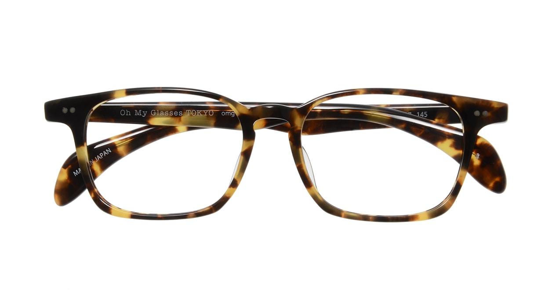 Oh My Glasses TOKYO Marc omg-008 4-51 [鯖江産/ウェリントン/べっ甲柄]  3