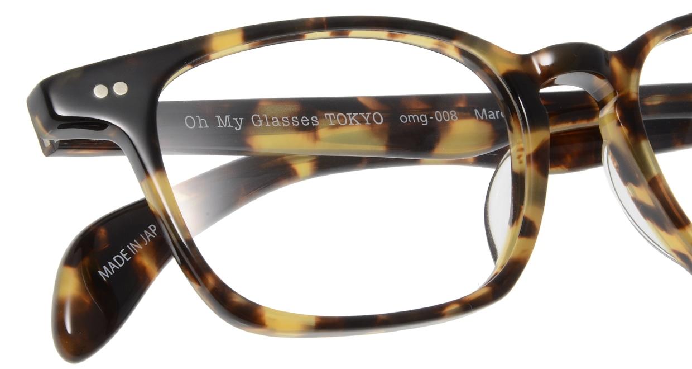 Oh My Glasses TOKYO Marc omg-008 4-51 [鯖江産/ウェリントン/べっ甲柄]  4