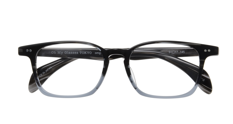Oh My Glasses TOKYO Marc omg-008 5-51 [鯖江産/ウェリントン/グレー]  3