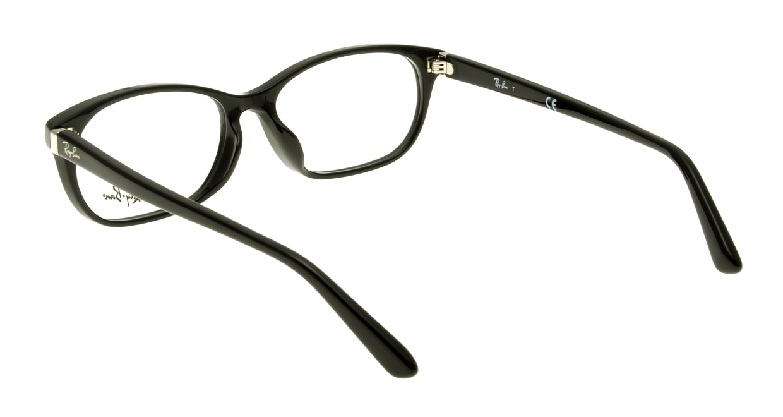 レイバン RX5208D-2000-54 [黒縁/ウェリントン]  2