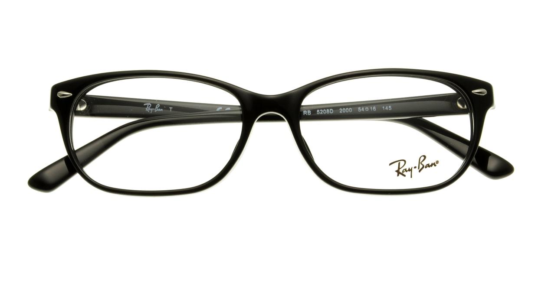 レイバン RX5208D-2000-54 [黒縁/ウェリントン]  3