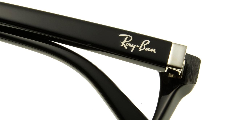 レイバン RX5208D-2000-54 [黒縁/ウェリントン]  4