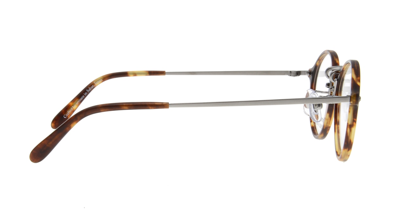オニメガネ OG7101-BR [鯖江産/丸メガネ/べっ甲柄]  2