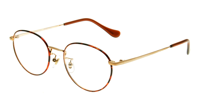 Oh My Glasses TOKYO Frank omg-055 GPD-50 [メタル/鯖江産/丸メガネ/べっ甲柄]