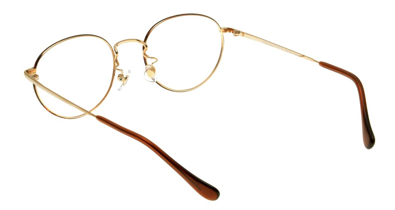 Oh My Glasses TOKYO Frank omg-055 GPD-50 [メタル/鯖江産/丸メガネ/べっ甲柄]  2