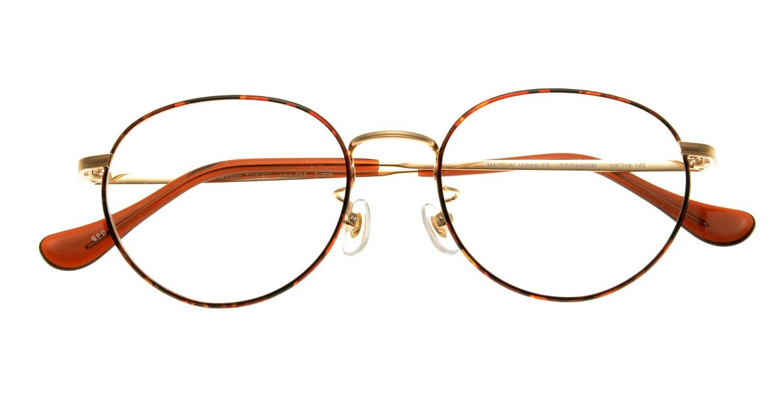 Oh My Glasses TOKYO Frank omg-055 GPD-50 [メタル/鯖江産/丸メガネ/べっ甲柄]  3