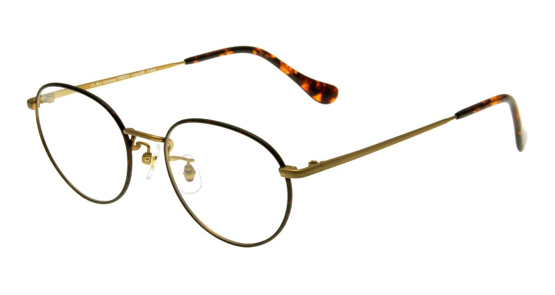 Oh My Glasses TOKYO Frank omg-055 BRD-50 [メタル/鯖江産/丸メガネ/べっ甲柄]