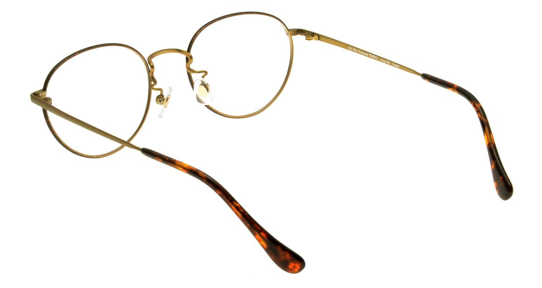 Oh My Glasses TOKYO Frank omg-055 BRD-50 [メタル/鯖江産/丸メガネ/べっ甲柄]  2