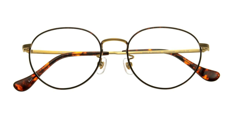 Oh My Glasses TOKYO Frank omg-055 BRD-50 [メタル/鯖江産/丸メガネ/べっ甲柄]  3