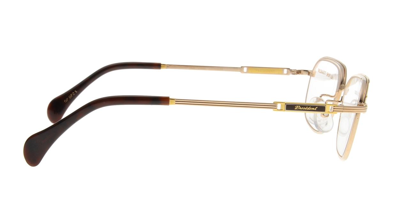 チタノス プレジデント T-2077-GPGPS2 [メタル/鯖江産/ウェリントン/ゴールド]  1