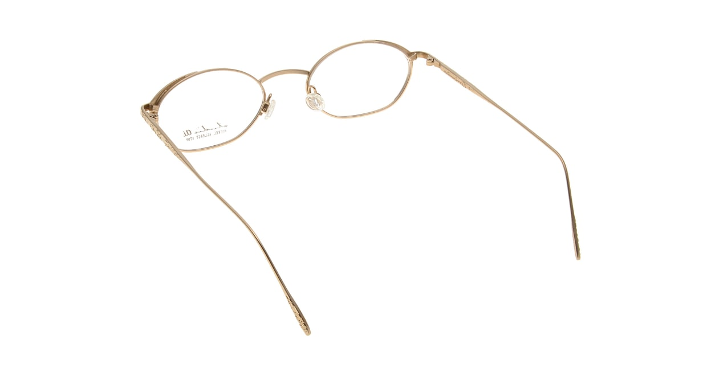 スタジオ アイ S-17-01 [メタル/鯖江産/オーバル/ゴールド]  2