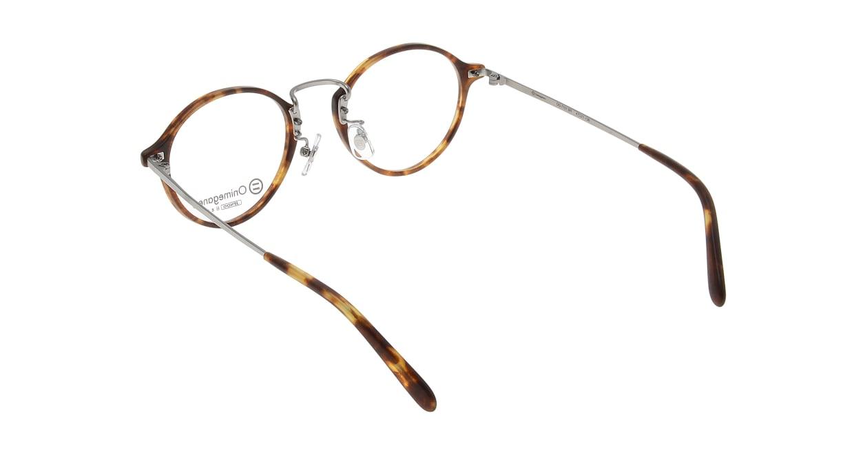 オニメガネ OG7101-BR-47 [鯖江産/丸メガネ/べっ甲柄]  2