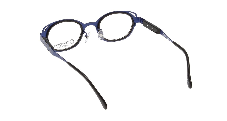 オニメガネ OG7202-BL-46 [メタル/鯖江産/ウェリントン/紫]  2