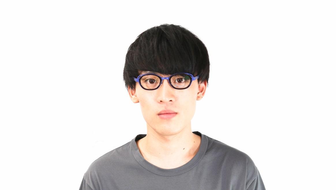 オニメガネ OG7202-BL-46 [メタル/鯖江産/ウェリントン/紫]  6
