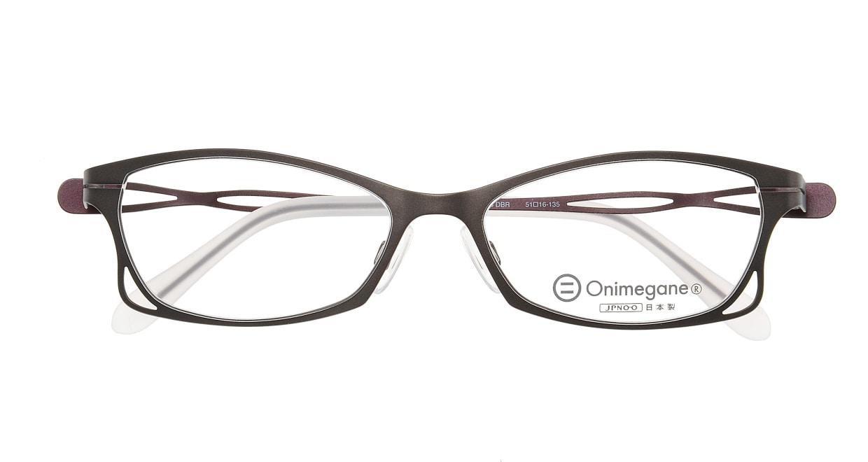オニメガネ OG7205-DBR-51 [メタル/鯖江産/フォックス/グレー]  3