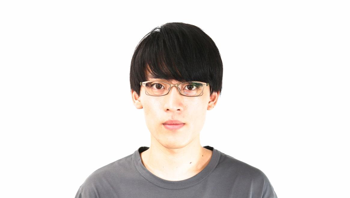 オニメガネ OG7205-LBR-51 [メタル/鯖江産/フォックス/茶色]  5