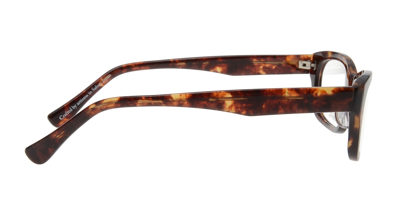 オニメガネ OG7701-DA-56 [鯖江産/ウェリントン/べっ甲柄]  1