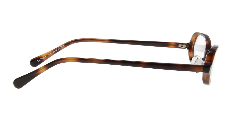 オニメガネ OG7801-DA-52 [鯖江産/オーバル/べっ甲柄]  1