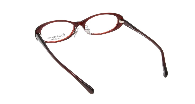 オニメガネ OG7804-DR-53 [鯖江産/オーバル/茶色]  2