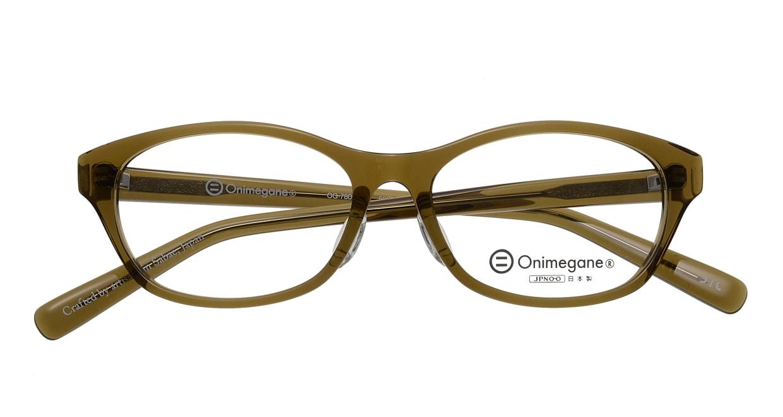 オニメガネ OG7805-OL-52 [鯖江産/ウェリントン/緑]  3