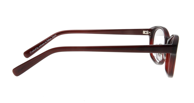オニメガネ OG7806-DR-52 [鯖江産/ウェリントン/茶色]  1