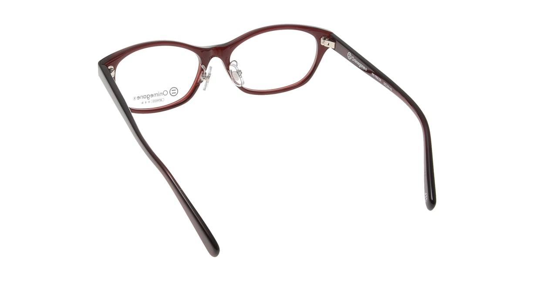 オニメガネ OG7806-DR-52 [鯖江産/ウェリントン/茶色]  2