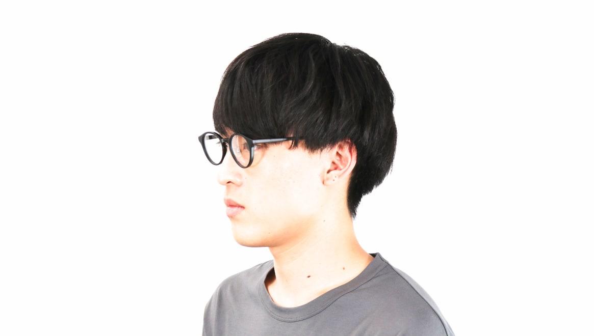 オニメガネ OG7808-BKM-47 [黒縁/鯖江産/丸メガネ]  7