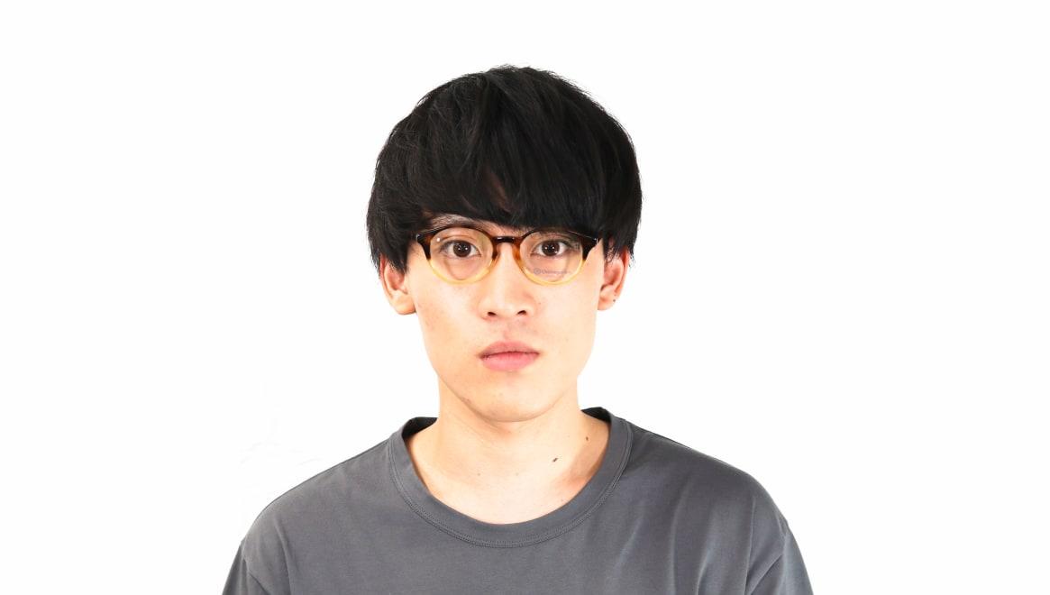 オニメガネ OG7809-DA-47 [鯖江産/丸メガネ/茶色]  6