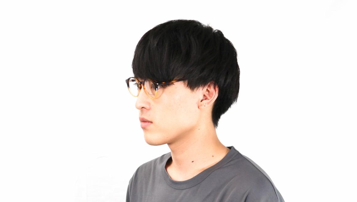 オニメガネ OG7809-DA-47 [鯖江産/丸メガネ/茶色]  7