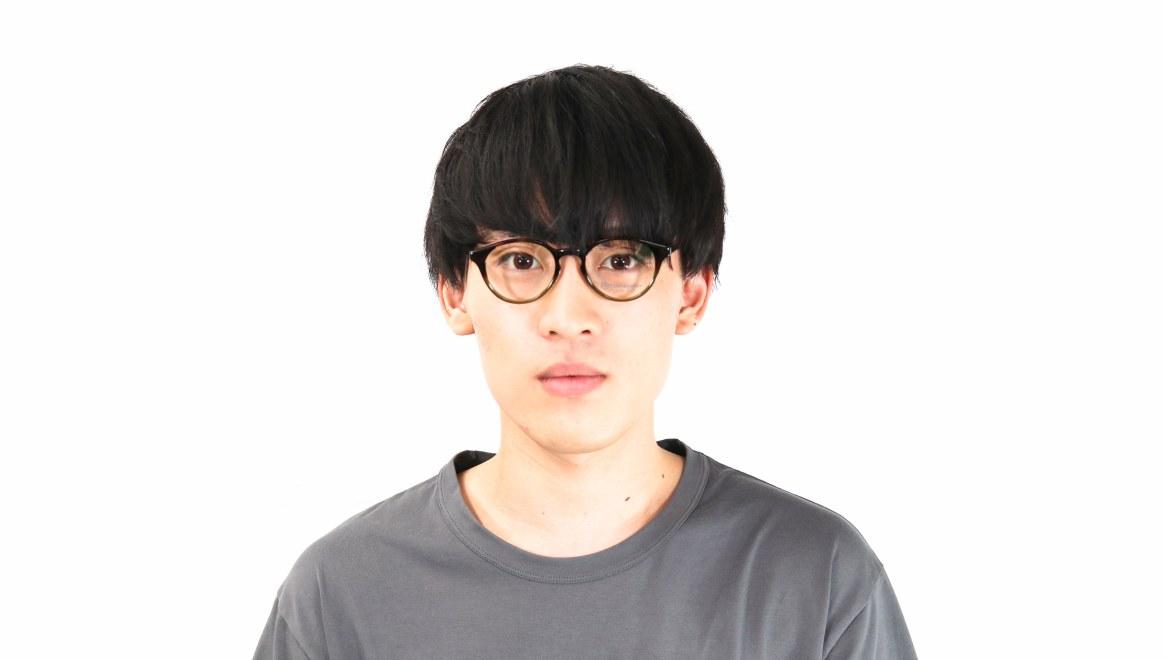 オニメガネ OG7809-GR-47 [鯖江産/丸メガネ/茶色]  6