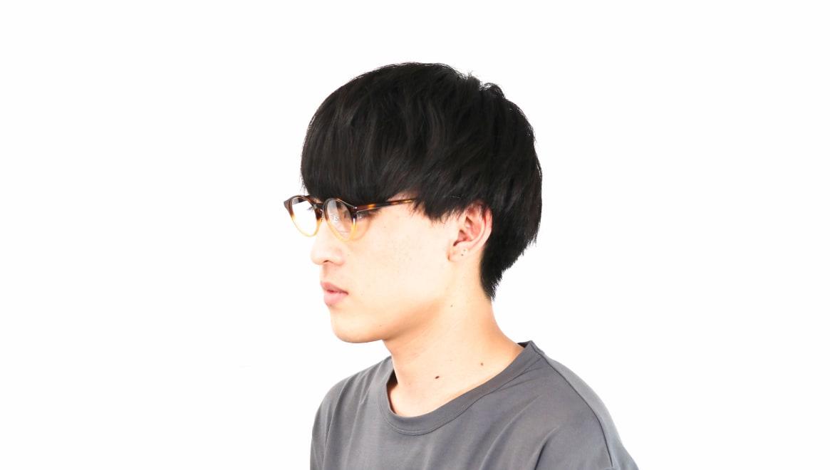 オニメガネ OG7810-DA-47 [鯖江産/丸メガネ/茶色]  6