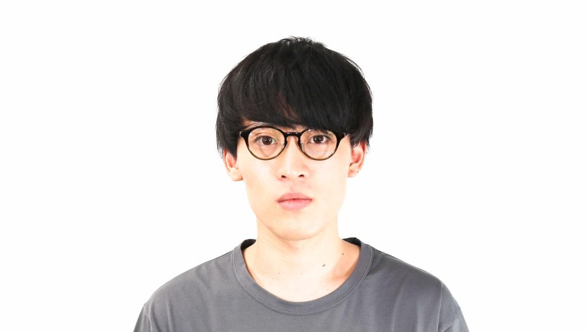 オニメガネ OG7810-GR-47 [鯖江産/丸メガネ/茶色]  6