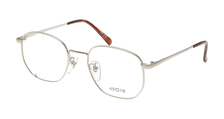 ブイオーシー NO1218-W-49 [メタル/鯖江産/ウェリントン/シルバー]