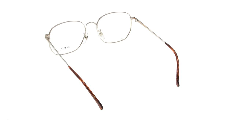 ブイオーシー NO1218-W-55 [メタル/鯖江産/ウェリントン/シルバー]  2