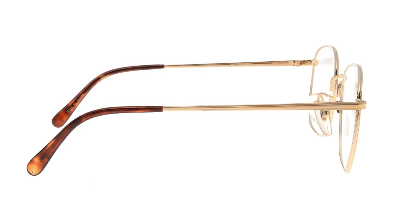 ブイオーシー NO1218-G-53 [メタル/鯖江産/ウェリントン/ゴールド]  1