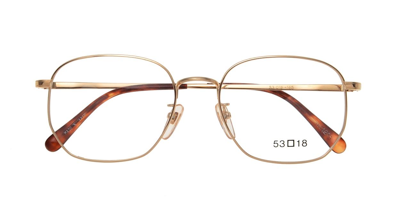 ブイオーシー NO1218-G-53 [メタル/鯖江産/ウェリントン/ゴールド]  3