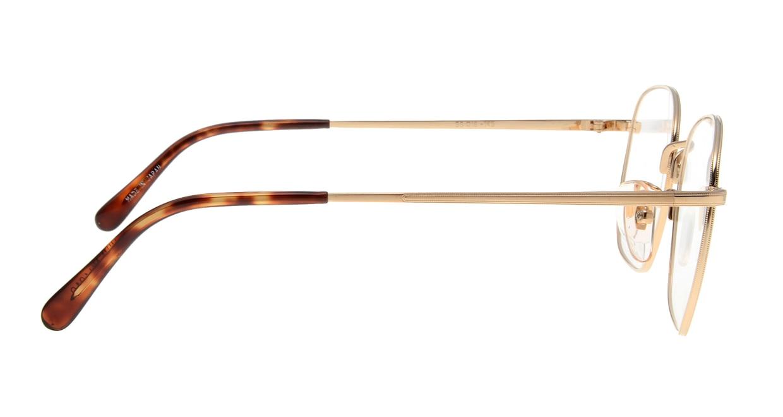 ブイオーシー NO1218-G-55 [メタル/鯖江産/ウェリントン/ゴールド]  1