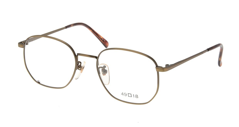 ブイオーシー 1218-ATG-49 [メタル/鯖江産/ウェリントン/ゴールド]