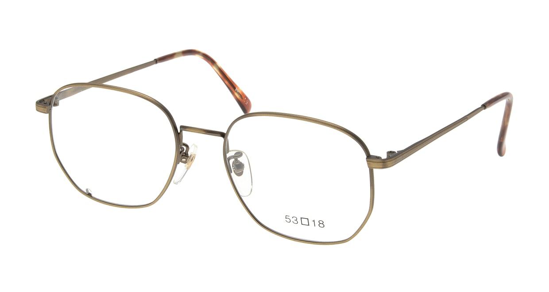 ブイオーシー 1218-ATG-53 [メタル/鯖江産/ウェリントン/ゴールド]