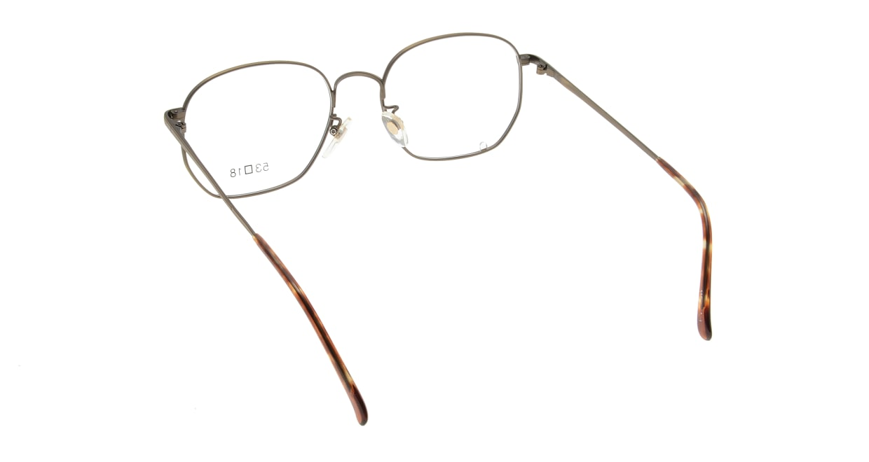 ブイオーシー 1218-ATG-53 [メタル/鯖江産/ウェリントン/ゴールド]  2