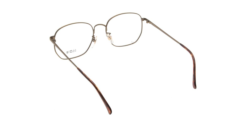 ブイオーシー 1218-ATG-55 [メタル/鯖江産/ウェリントン/ゴールド]  2