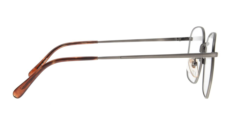 ブイオーシー NO1218-ATS-55 [メタル/鯖江産/ウェリントン/グレー]  1